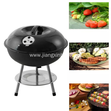 14'' Portable Round Easy Assembled Charcoal BBQ Grill