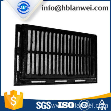 20 Years Factory for Cast Iron Gully Grates,Road Gully Grates,Drain Grate Supplier in China Road trench drain grate export to France Factories