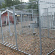 Metal Wire Weld Mesh Panel Dog Cage
