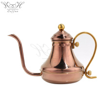China for Drip Coffee Maker Antique Hand Drip Coffee Kettle Fine Mouth Pot export to United States Supplier