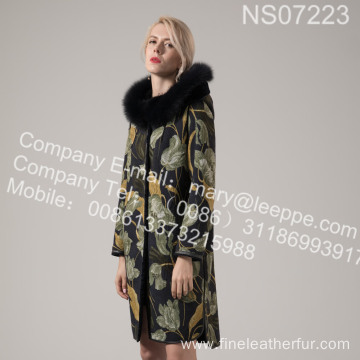 Winter Coat Fur Women