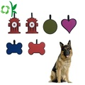 Custom Cartoon Shaped Dog tag Silicone Pet Tag