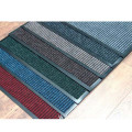 Professional customized mat design with ribbed and striped