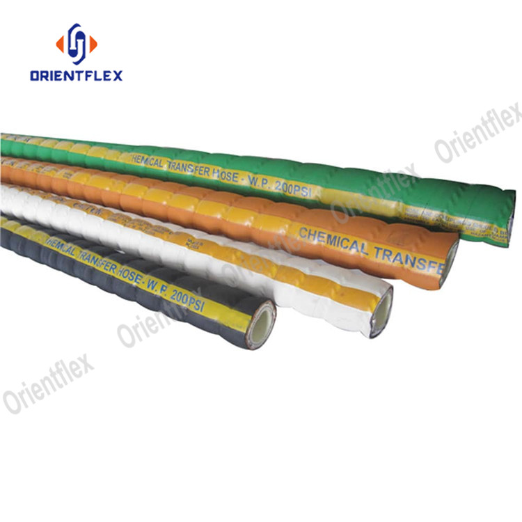 Corrugated Uhmwpe Chemical Hose 7