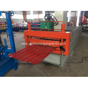 IBR Aluminum Metal Sheet Roofing Wall Panel Machine