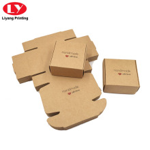 Foldable Kraft Paper Soap Box Shipping