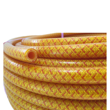 Cheap agricultural spraying used pvc braided hose