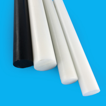 White/Black 8mm Diameter 1000mm Acetal POM Plastic Rod