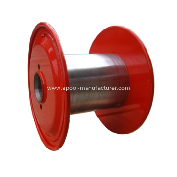 double layer copper wire processing steel spool