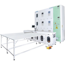Supplier for Quilt Folding Machine, Smart Duvet Filling Machine, Quilt Filling Machine, Pillow Filling Machine, Automatic Bedding Making Machinery Leading China Factory Down Quilt Filling Machine Automation supply to Venezuela Factories