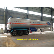 Renewable Design for LPG Tank Trailers, LPG Gas Tanker Trailers, LPG Trailer Tankers supplier 59100 Litres 3 Axle LPG Trailer Tanks export to Western Sahara Suppliers