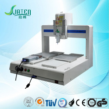 Automatic glue dispensing machine for plug