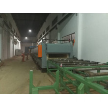 Large roller type annealing furnace