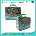 Green Turtle tin box