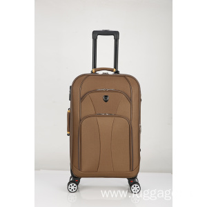 Hot sale reasonable price for  Suitcase Spinner Softshell lightweight luggage export to Oman Supplier