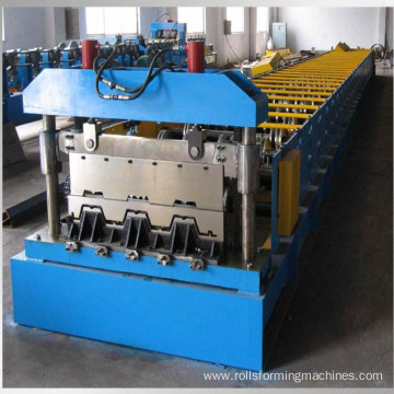 steel floor plate roll forming machine