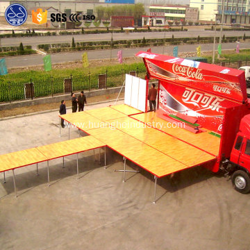 park and play mobile stage