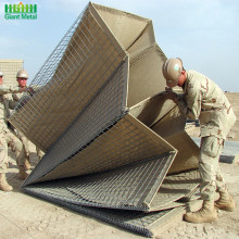 Best price prevent flooding Sand filled blast wall