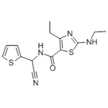 5-Thiazolcarbonsäureamid, N- (Cyano-2-thienylmethyl) -4-ethyl-2- (ethylamino) CAS 162650-77-3