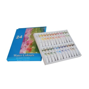 24 Colors 12ml Water Paint Set