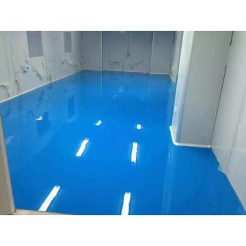 Sky Blue Epoxy Antistatic Topcoat coating