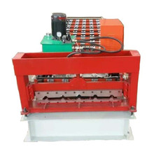 trapezoidal sheet roll forming machine for buildin