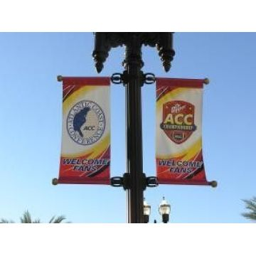 Custom Printed Double Sided Street Pole Banners