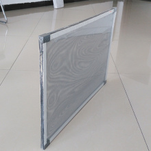 Aluminum frame of window kit