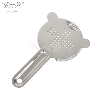 Stainless Steel Hawthorne Cocktail Strainer