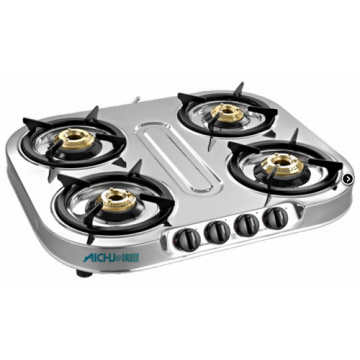 Spectra 4 Burner SS Gas Stove Auto Ignition