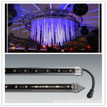 Disco ceiling light fixtures dmx 3d tube