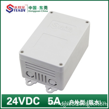 Outdoor power supply  24VDC 5A Waterproof
