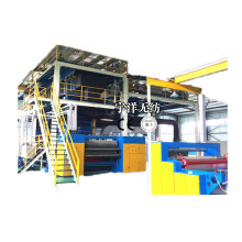 Free sample for S2400 Nonwoven Fabric Line Non woven fabric making machine supply to Kenya Manufacturer