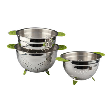 Stainless Steel Colander With Small Holes
