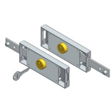 Motorized Roller Shutter Door Locks Kit