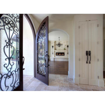 Hand Forged Iron Doors