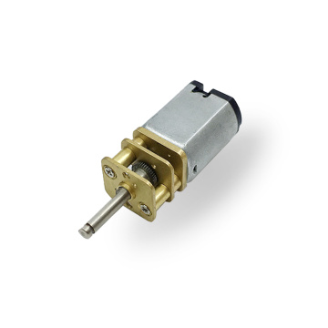 FF030 With the circlip groove mini gear motor