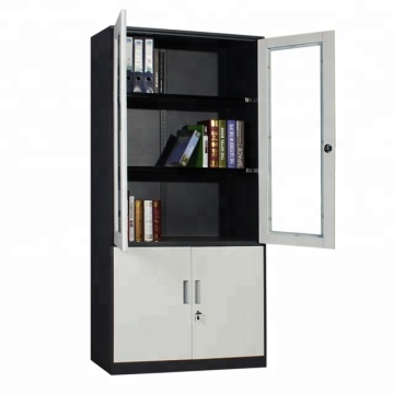 20 Years manufacturer for Cupboard For Office UP 2 glass Door Steel Office Cupboard supply to St. Helena Suppliers