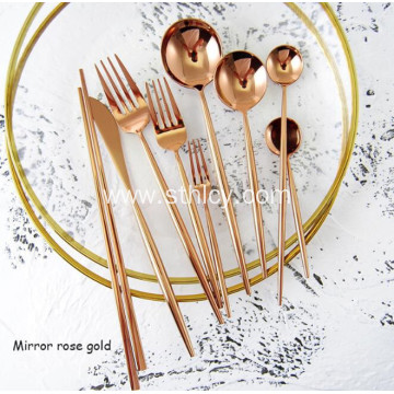 304 Luxury Stainless Steel Flatware Set Wholesale