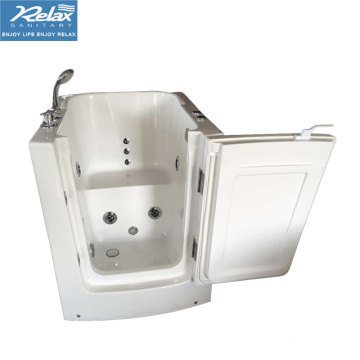 Acrylic massage bathtub walk in tub for elder