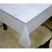 dubai Printed pvc lace tablecloth by roll