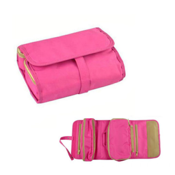 wholesale canvas cosmetic bag fashion travel cosmetic bag