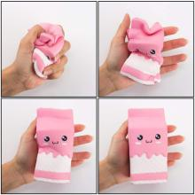 Jumbo Squishy Toy Kawaii Milk Cup Squeeze