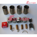 excavator BD30 engine gasket bearing piston ring liner