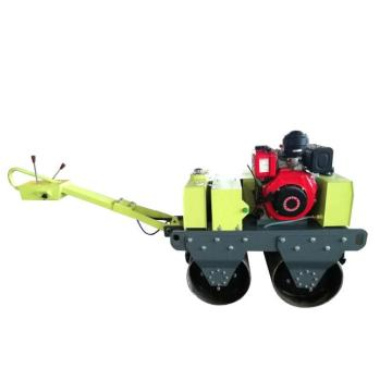 Walk behind double drum vibratory road roller price