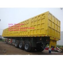 3 axles container trailer for 60T load