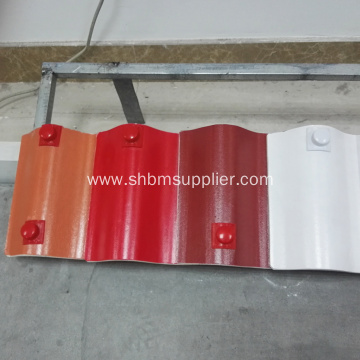 Cheap Fire-proof Glazed MgO Roof Tile