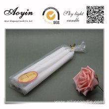 Yes Handmade White Stick Long Burning Candle