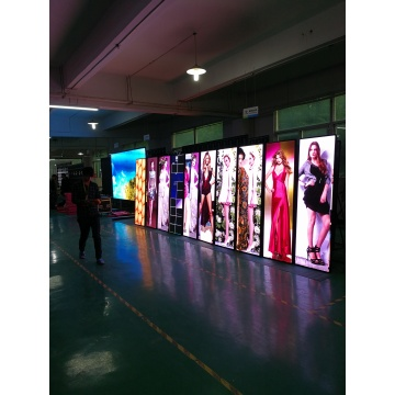 Free Standing Kiosk Poster Advertising Player