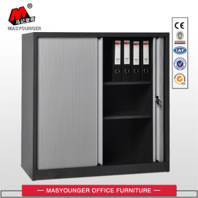 office metal storage filing tambour door cabinet